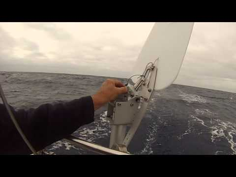 Offshore With the 2014 Sailomat Steering Vane