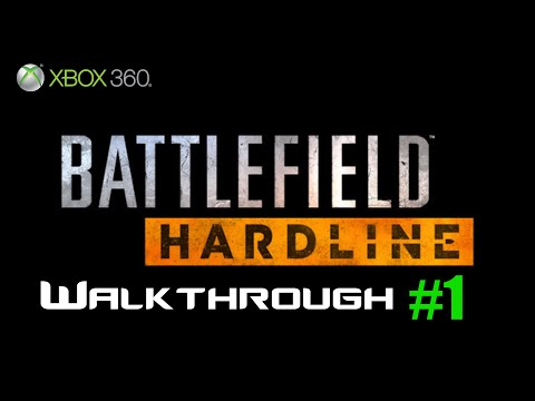 Battlefield Hardline Xbox 360 Gameplay Part 1 | Back To School