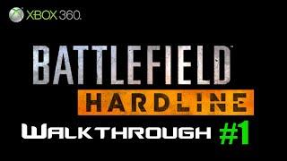 Battlefield Hardline Xbox 360 Gameplay Part 1 | Back To School