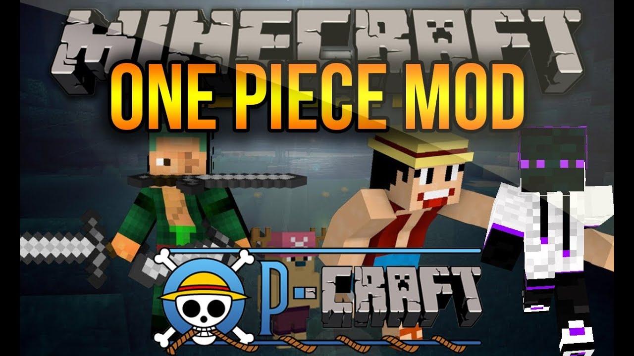One Piece En Minecraft 1.7.10/1.7.2/1.6.4 - Como Descargar e ...