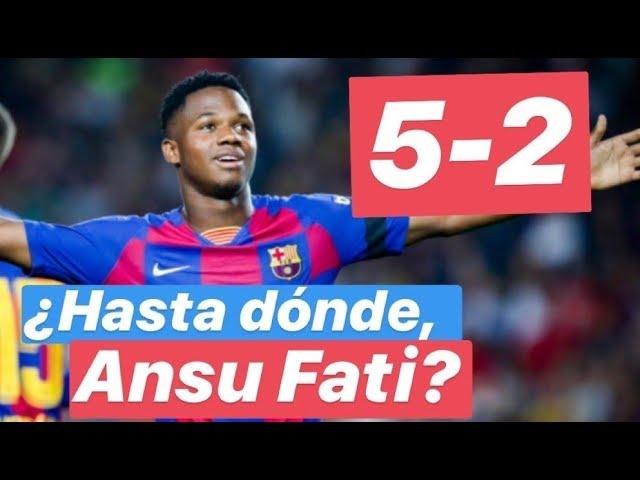 Barcelona 5 Valencia 2. El análisis. Fati, Suárez y el resto. #MundoMaldini