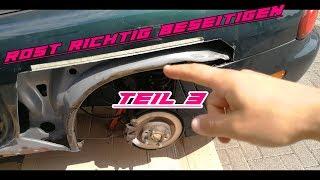 Wie entferne ich Rost I Teil 3 Mazda MX5 NB I NIGHTRUN I VLOG Episode #7