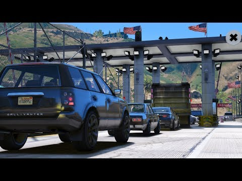 LSPDFR - Day 532 - Border Checkpoint