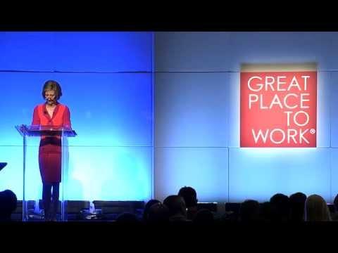 Victoria B. Mars 2014 Great Place to Work - Keynote Speech Recap