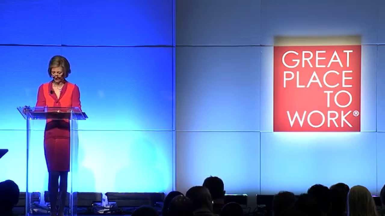 Victoria B. Mars 2014 Great Place to Work - Keynote Speech Recap - YouTube