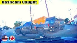 Ultimate North American Cars Driving Fails Compilation - 176 [Dash Cam Caught Video]