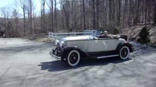 "1930 Buick Model 44 Rumble Seat Convertible""SOLD"""