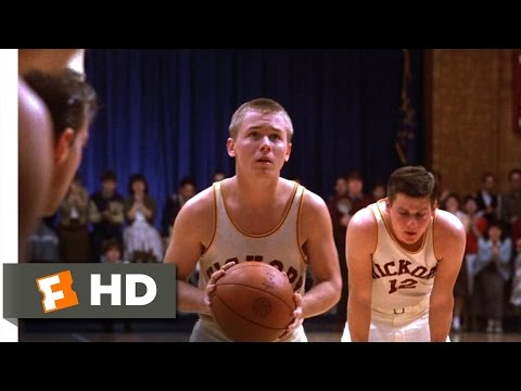 Hoosiers (9/12) Movie CLIP - Ollie Sinks His Free Throws (1986) HD