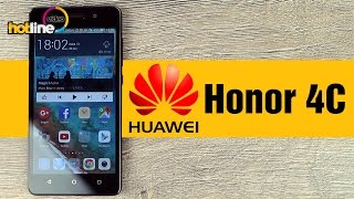 видео обзор смартфона Huawei Honor 4C Pro 16 Гб золотистый