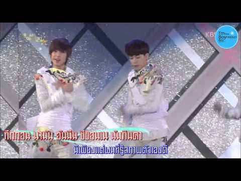 [Karaoke-Thaisub] 130531 Dream Concert Boyfriend - Intro+Jan