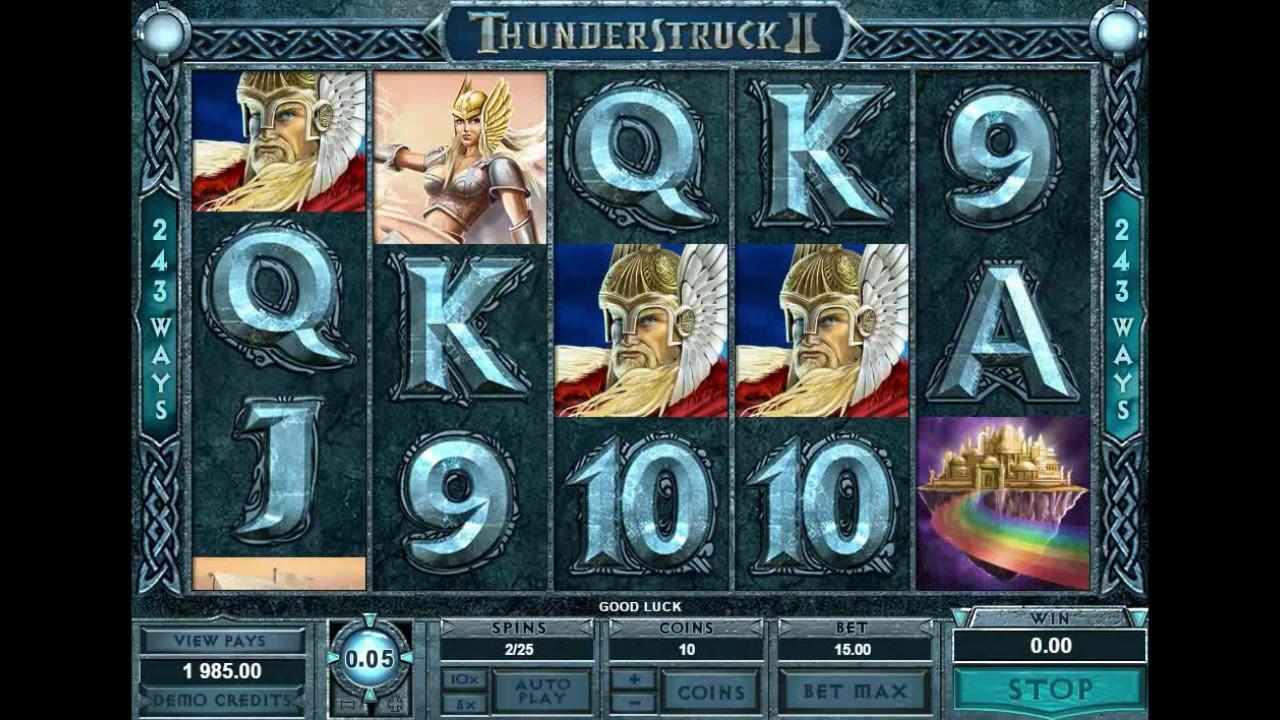 Игровой онлайн автомат Thunderstruck - описание.Онлайн автомат выполнен в классическом стиле и не требует особых сложностей для его освоения и/или изучения.Сургут