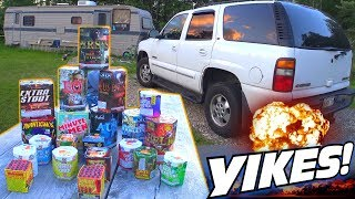 HILARIOUS Father & Son Fireworks! Funny Fourth of July Firework Fails w/ EXO