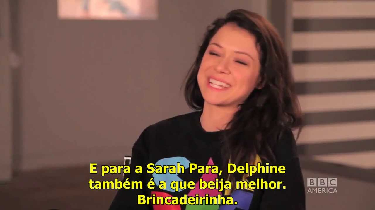 Download [LEGENDADO] TATIANA MASLANY Answers Who's the Better Kisser Paul or Delphine - ORPHAN BLACK Ask OB