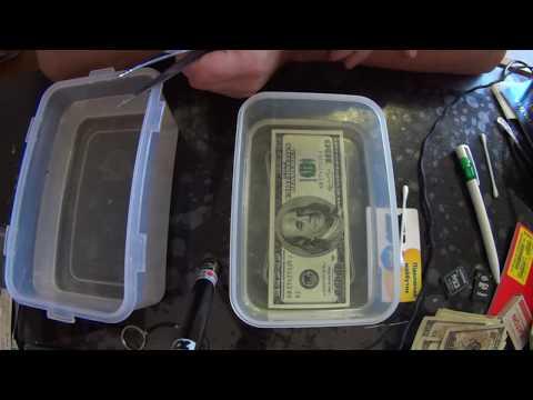 Убираем плесень с доллара