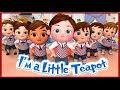 I'm a Little Teapot After Back To school - Banana Cartoons [HD]