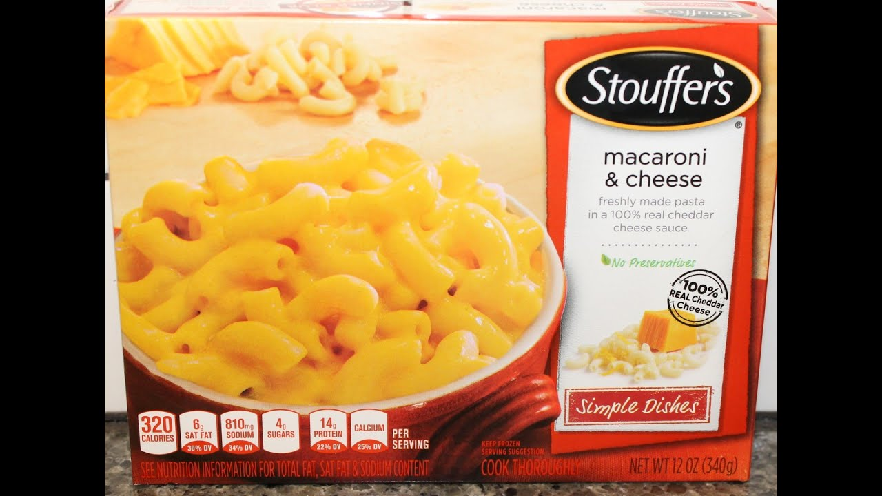 Stouffer39s Macaroni Cheese Review YouTube