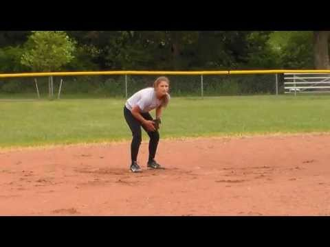 Alaina Davidson - Class of 2017 - Softball Recruit - 3B - Salem High School (Indiana)