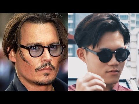 johnny depp hair style johnny depp s hairstyle tutorial s hair inspiration 3101