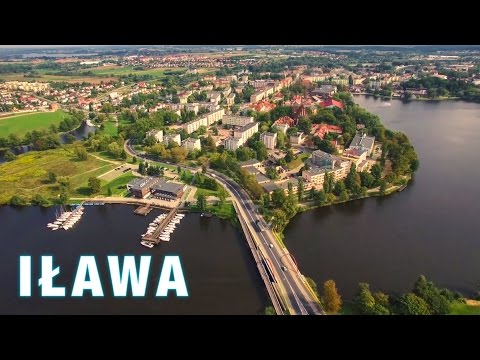 Ilawa from above / Phantom 3 Professional