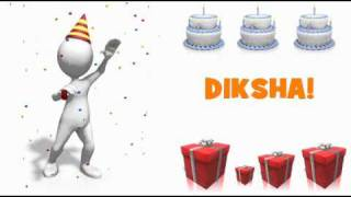 HAPPY BIRTHDAY DIKSHA!