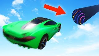 LAND IN THE TUBE OR DIE! (GTA 5 Funny Moments)