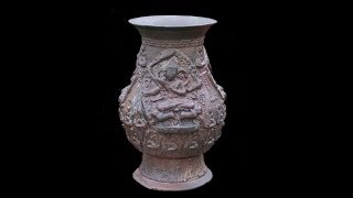 Bronze Vase of the Pala Dynasty - 8th to 12th Century AD