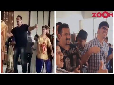 Salman Khan dances on 'Loveyatri's' song at inauguration of kid's center & more | Bollywood News
