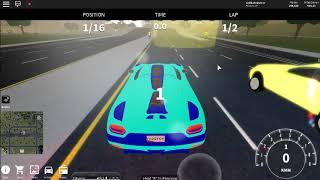 Roblox -- Fahrzeug-Simulator ep 1 (Autobahnrennen)