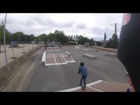 Nyborg Skatepark - Første dag med det nye GoPro Hero 4