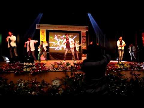 Adyans boys dance [aims medical college mandya]