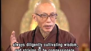 Buddhist householder and a non-Buddhist householder(GDD-0150, Master Sheng Yen)