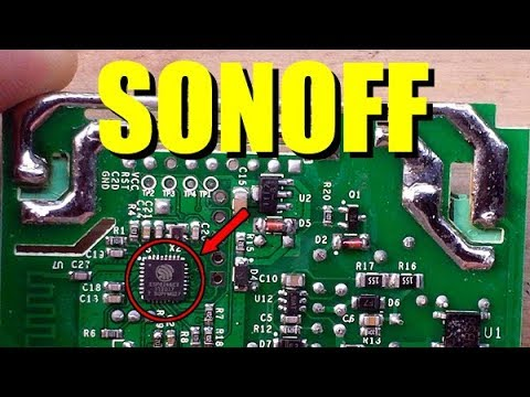 Complete SONOFF Smart WiFi Switch setup