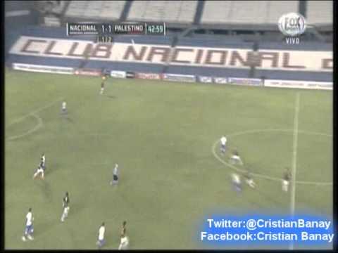 Nacional 2 Palestino 1  (Sport890 La Deportiva) Copa Libertadores 2015