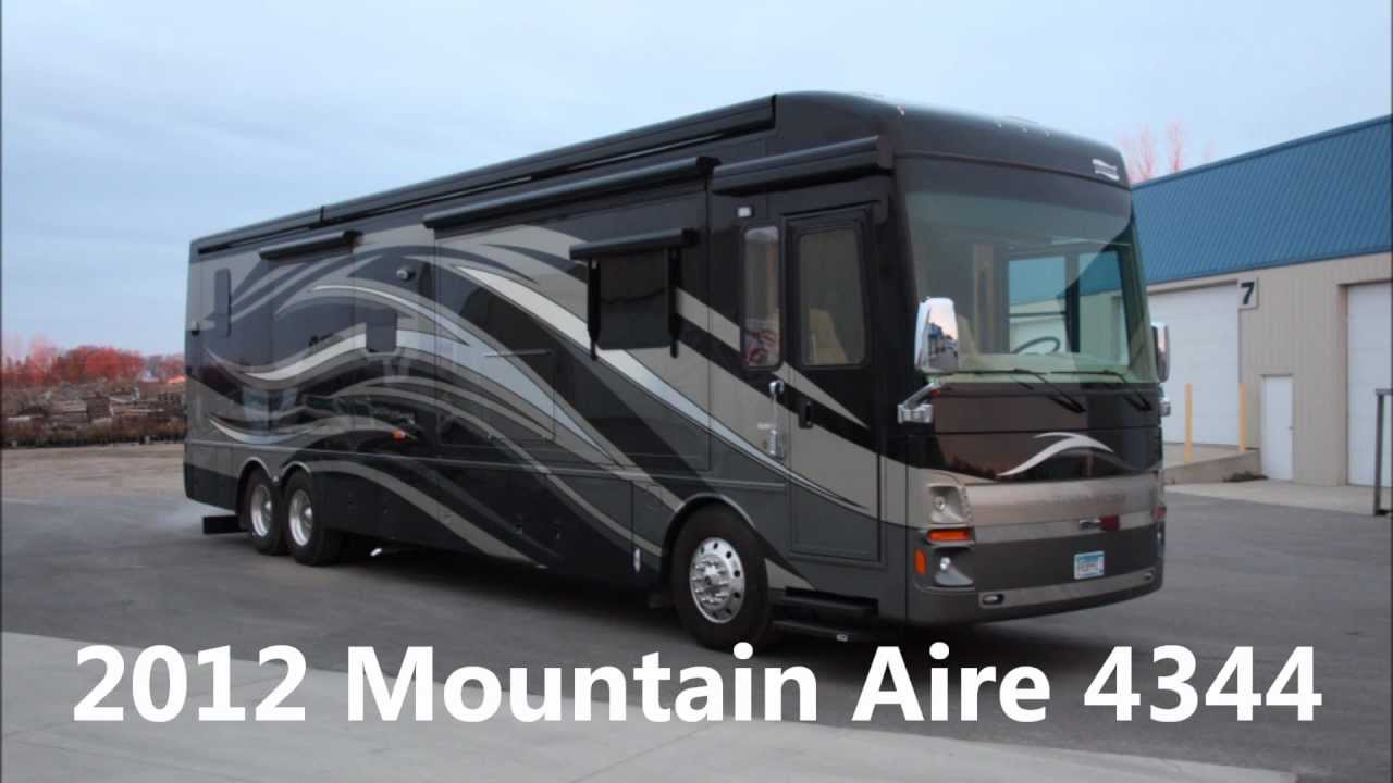 Used 2017 Newmar Mountain Aire 4344 All Electric Luxury Sel Pusher Motorhome For