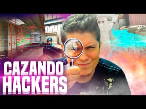 SE SALE DE LA PARTIDA PARA PONERSE HACKS | CAZANDO HACKERS EN COUNTER STRIKE GLOBAL OFFENSIVE