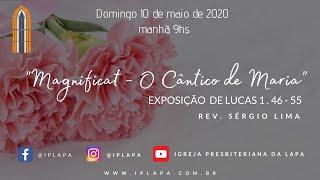10/5/2020 Culto da manhã (Ao vivo) - Rev. Sergio Lima