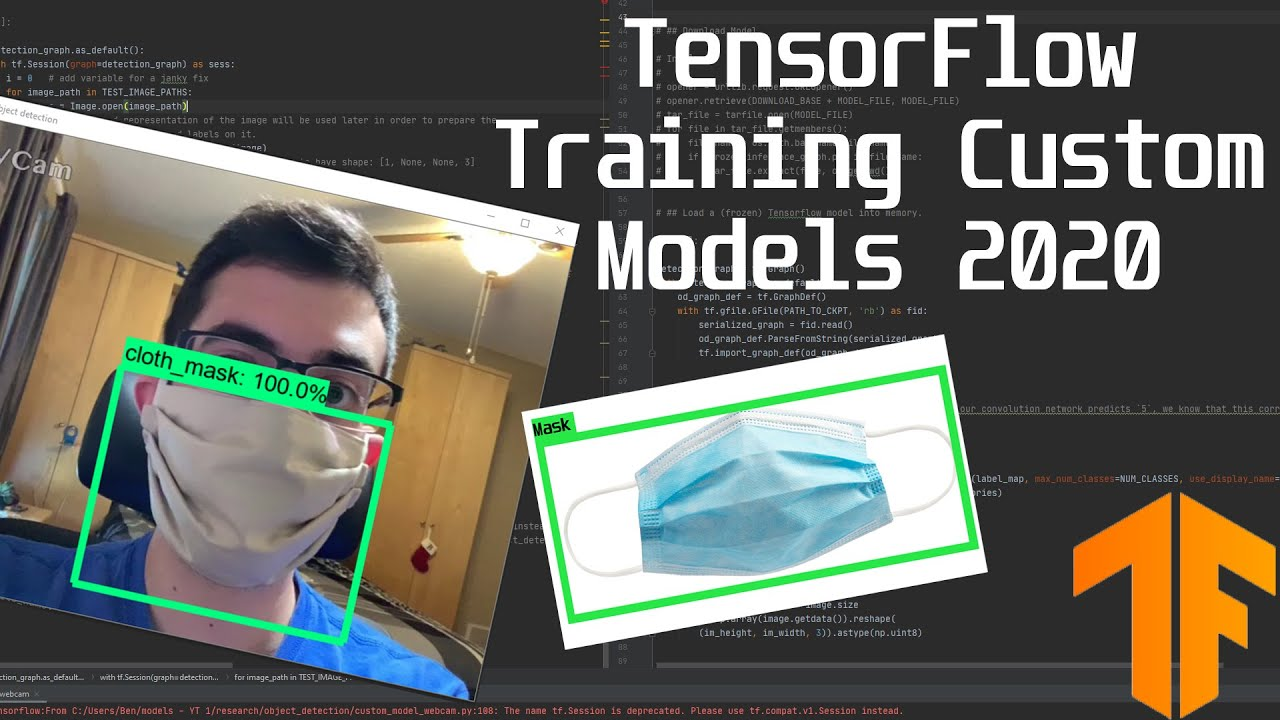 How to Train a Custom Model for Object Detection (Local and Google Colab!)