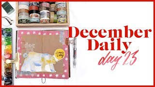 December Daily Day 23 | Journal with Me