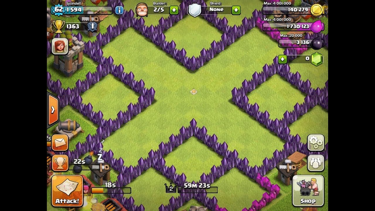 Clash of clans best 5 th7 farming bases youtube