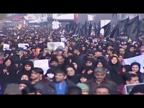 Live: Funeral Procession For Iran's General Qasem Soleimani - Pt. 3
