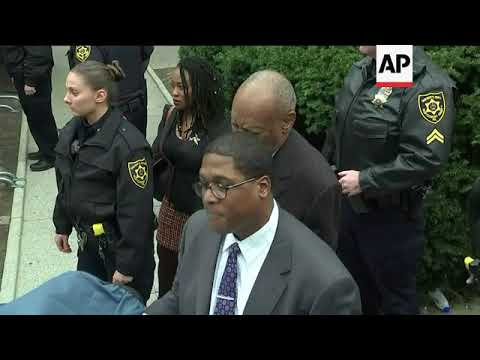 Security Increased Around Courthouse for Cosby