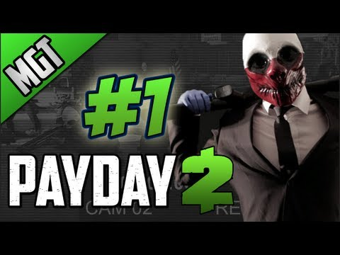 Payday 2 Mision Golpe Al Banco:Deposito En Español # 1