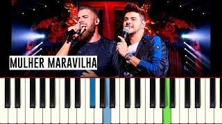 Baixar 💎Zé Neto e Cristiano - Mulher Maravilha - Piano tutorial - Master Teclas💎