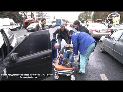 В ДТП на пр. Ленина в Туле пострадали ребенок и трое взрослых