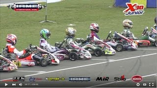 IAME International Final: X30 Junior - Le Mans