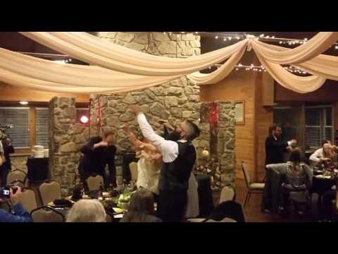 Beetlejuice Wedding: Day-O Banana Boat Song Dance