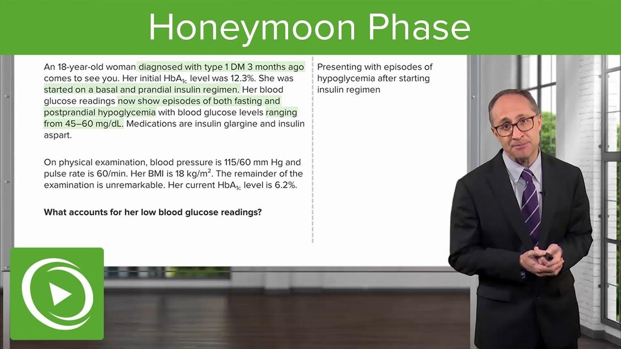 Honeymoon Phase with Case – Endocrinology | Lecturio