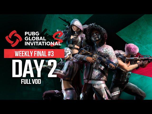 PGI.S | Weekly Final #3 | Day 2