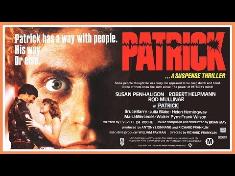 Patrick (1978) Trailer - Color / 1:40 mins