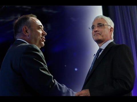 Alex Salmond Vs Alistair Darling: Leaders Face Off In Scottish Referendum TV Debate
